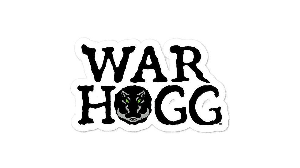 War HOGG Bubble-free stickers
