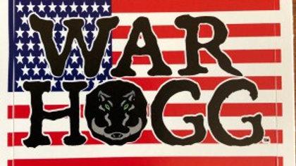 War HOGG Vinyl Sticker