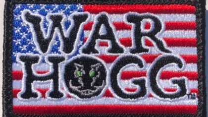 War HOGG Velcro Embroidered Patch