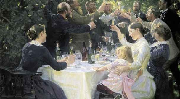 Españoles Dinamarca Arte Skagen Krøyer Sorolla Copenhague
