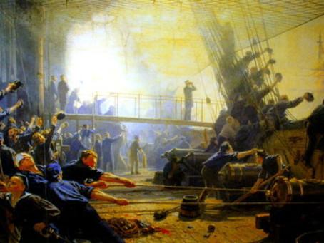 Cañonazos e historias regias para la fragata Jylland