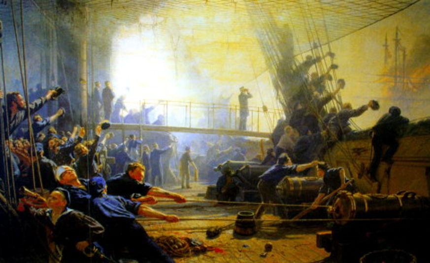 Españoles Dinamarca Copenhague Helgoland Batalla Historia
