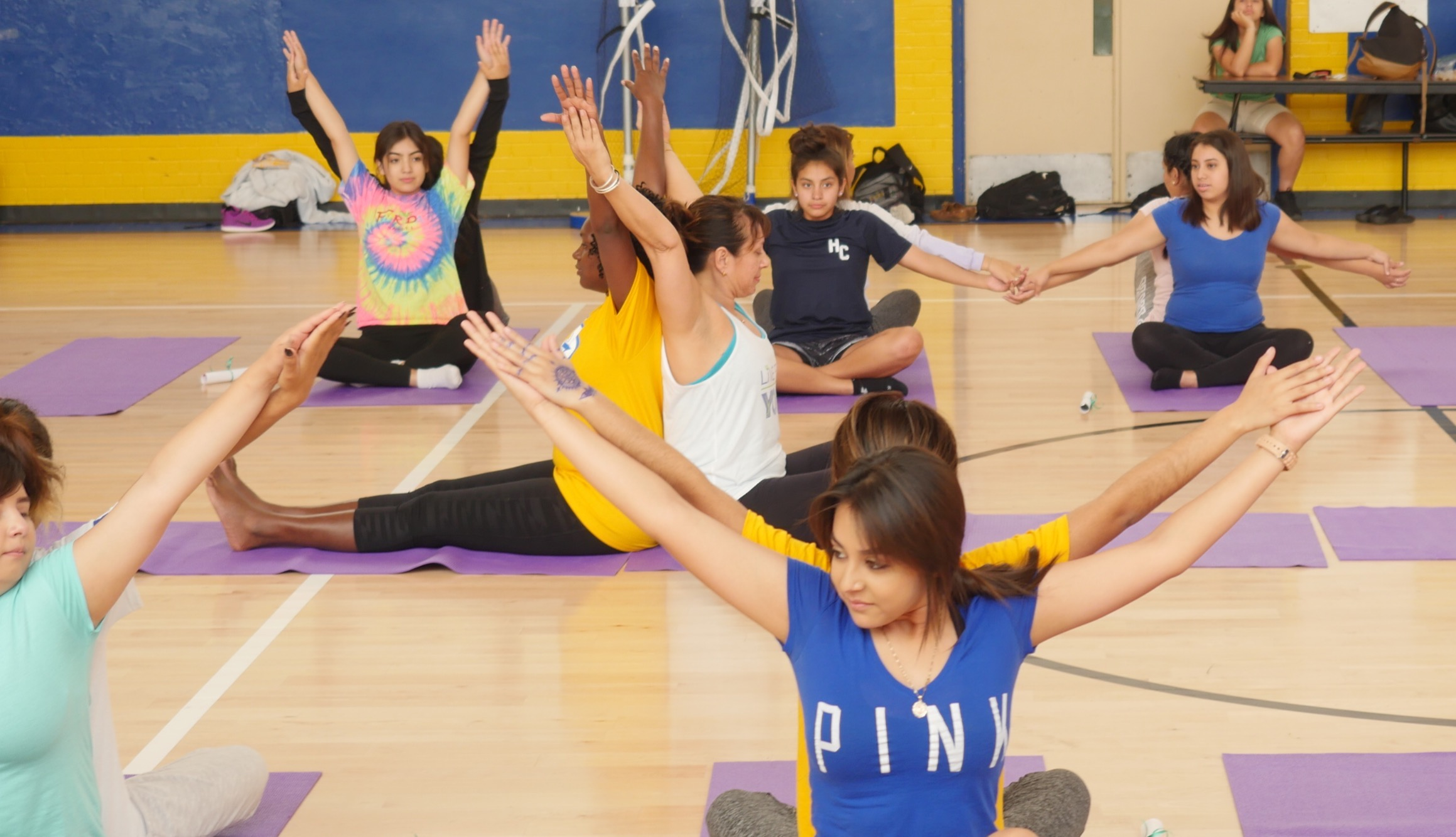 Yoga for teen athletes