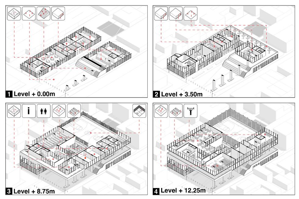 Axonometrica Plans