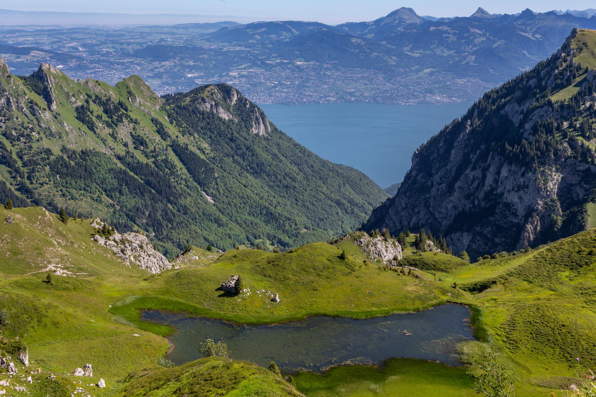 Lacs de Neuteu et Léman