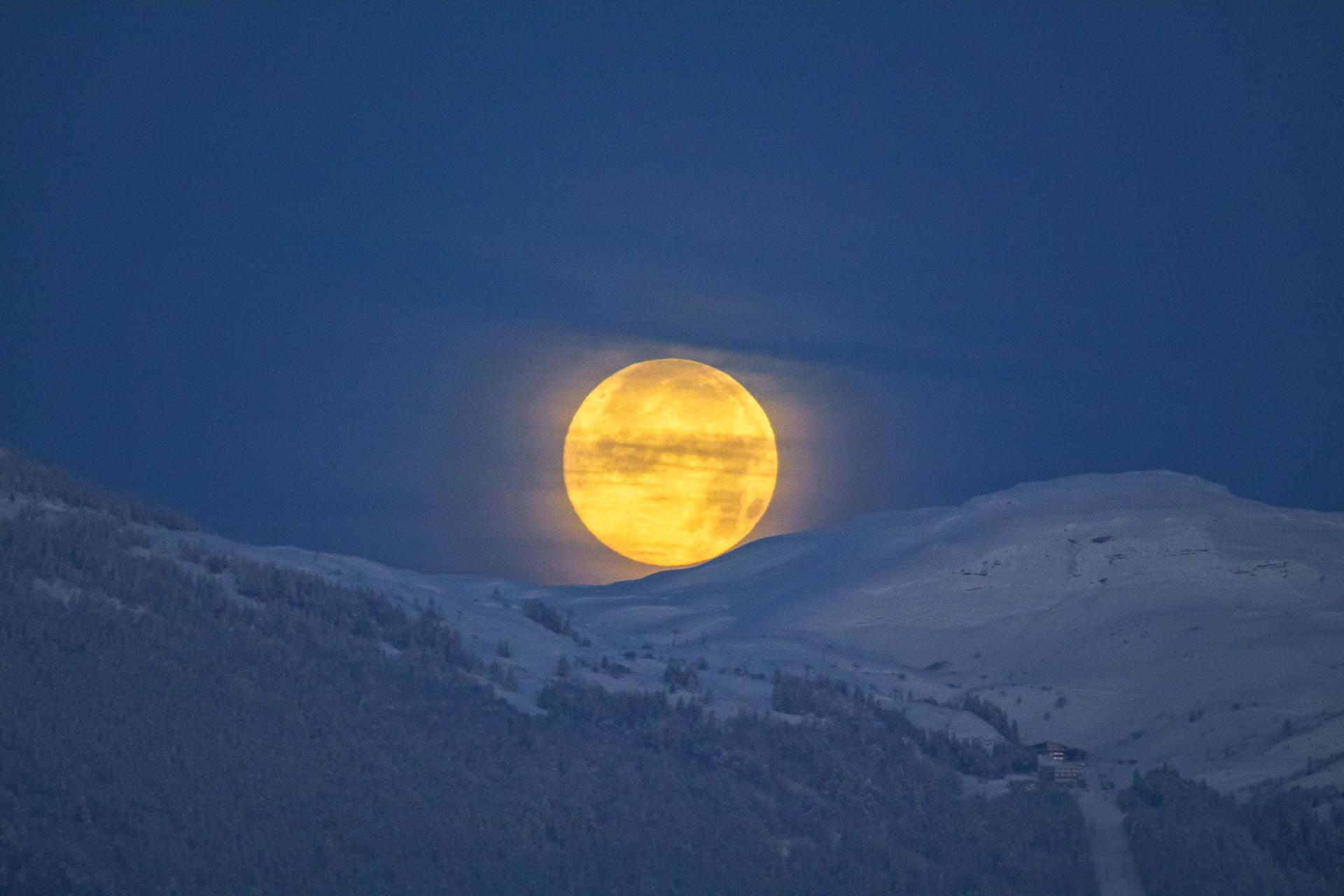 La Lune a rendez-vous...