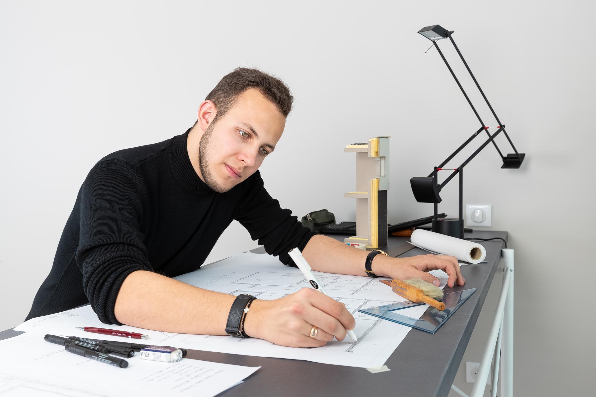 Arno, futur architecte