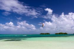 Kitesurf aux caraïbes