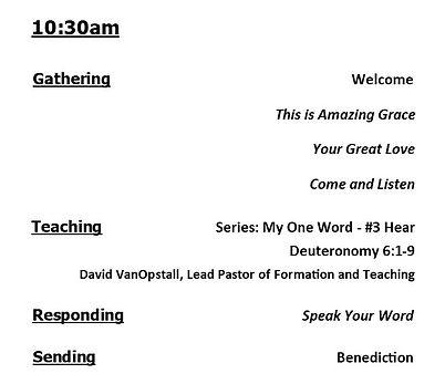 2021-01-17 Bulletin Worship Order 1030.j