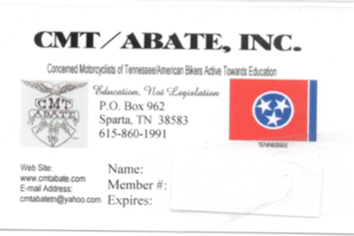 CMT/ABATE Membership.(Full)