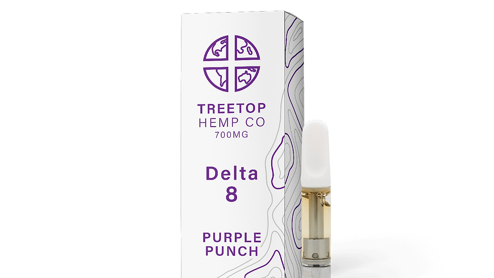 Treetop Hemp Co – Delta 8 Cartridge (700mg)