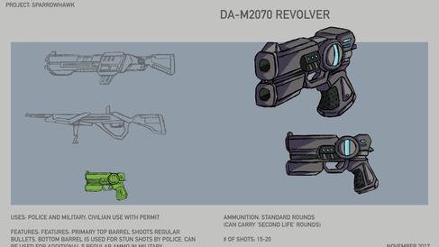 DA-M2070 Revolver/Handgun