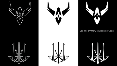 Logo Designs for 'The Sparrowhawk Project'