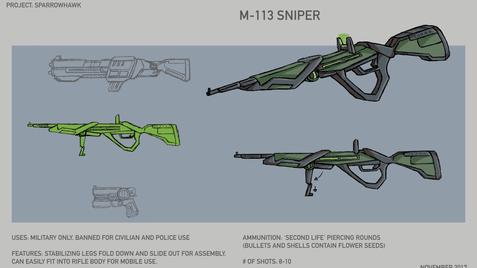 M-113 Sniper Rifle
