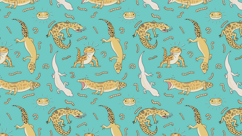 Gecko Pattern