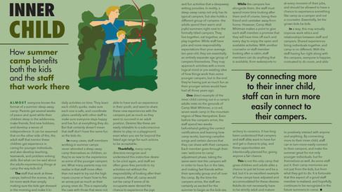 'Cabin 2B' Magazine Spread