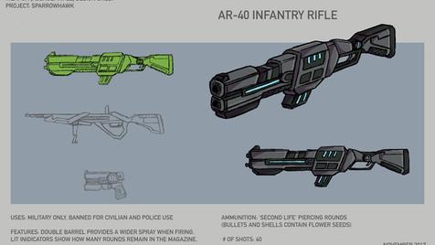 AR-40 Infantry Rifle