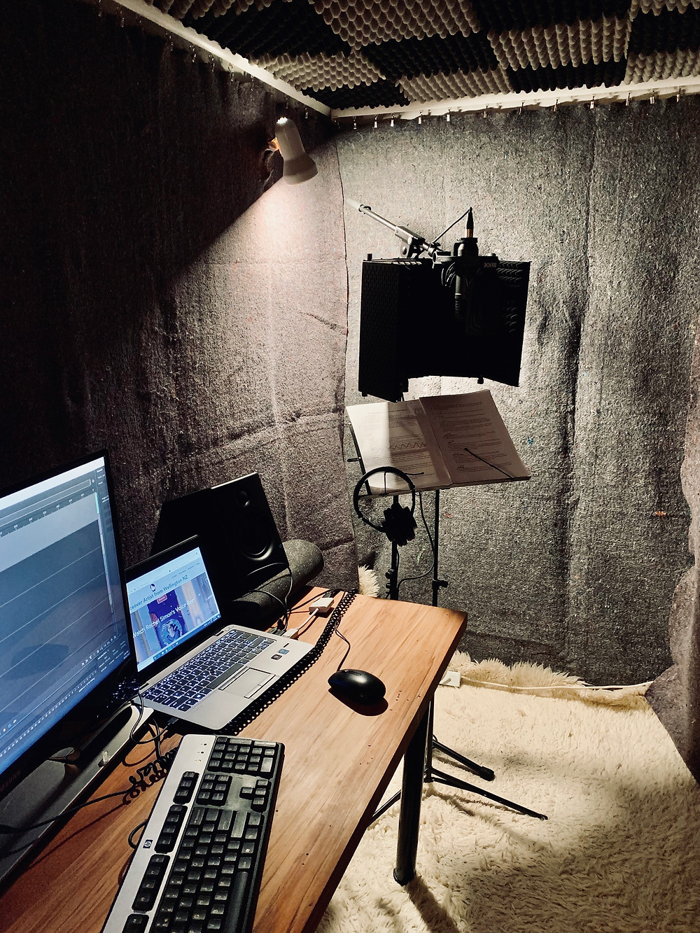 VoiceoverNZ home studio