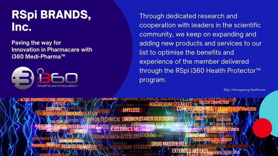 Investors Onboarding Prospectus RSpi i36o Life Healthcare