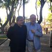 Director Museo Nacional de Artes Visuales, Enrique Aguerre y Jorge Helft