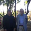 Director Museo Nacional de Artes Visuales y Jorge Helft