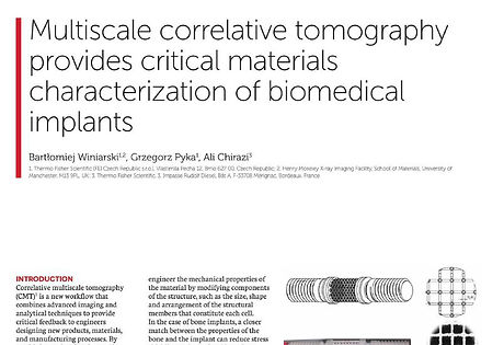 Contributed Article Multiscale Correlati