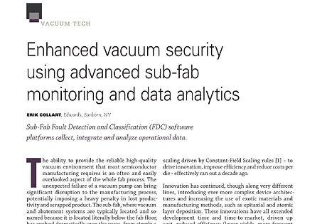 Contributed Article Enhanced Vacuum Secu