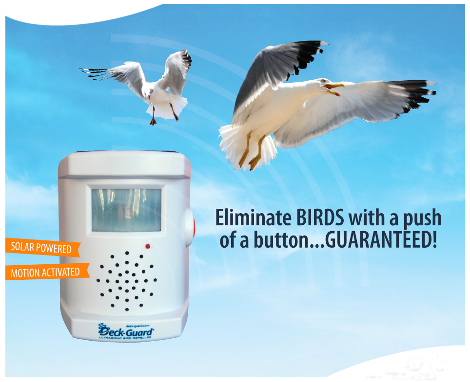 Boat Bird Repellers | Deck-Guard Bird Repellers