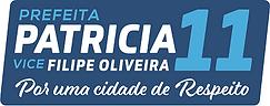 Logotipo Selo - Patricia e Filipe - smal