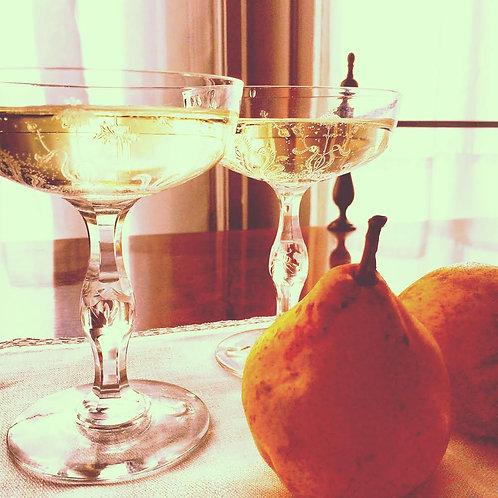 Champagne Honey Pear Preserves