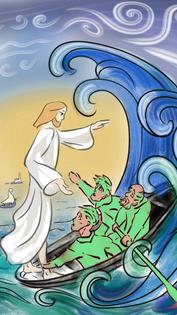 """13/06/2021 """"Qui est-il donc, celui-ci, pour que même le vent et la mer lui obéissent ? """""""