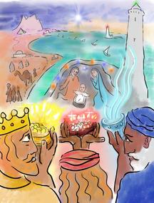 """03/01/2021  """"Nous sommes venus d'Orient adorer le roi """""""
