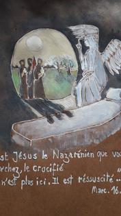 04/04/21 Pâques « Jésus de Nazareth, le Crucifié, est ressuscité »