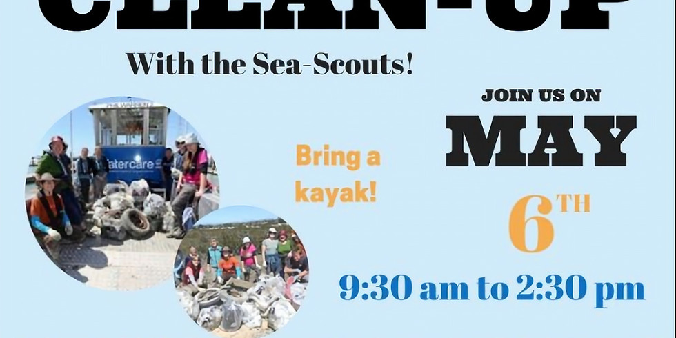 Clean up with the Sea Scouts!
