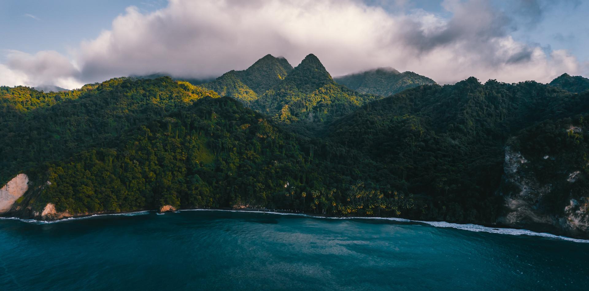 Plage de l'Anse Couleuvre en Martinique