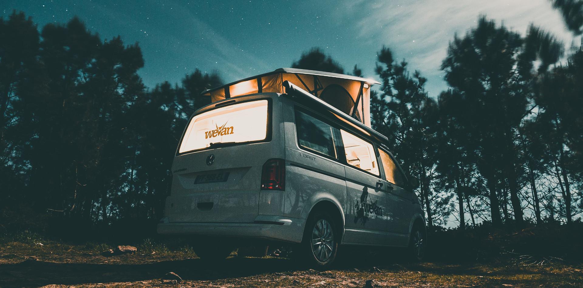 Road Trip en van en Bretagne