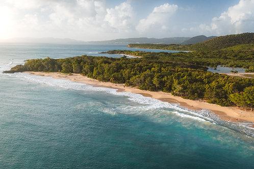 Panorama Grande Anse des Salines