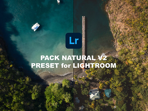 "Pack Preset ""Natural V2"" for Lightroom Classic"