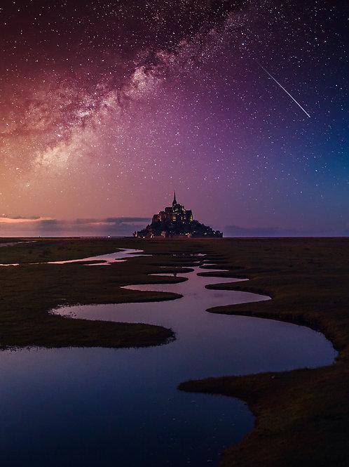 Voie Lactée - Mont-Saint-Michel