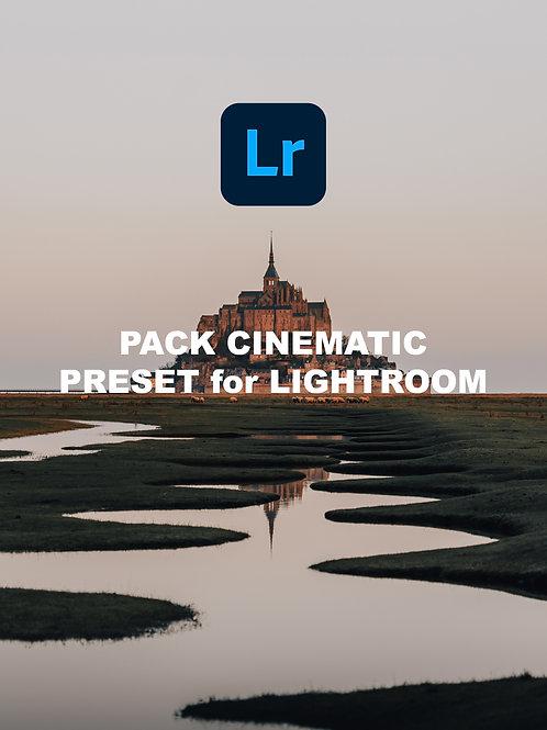 Pack Cinematic - Preset Lightroom