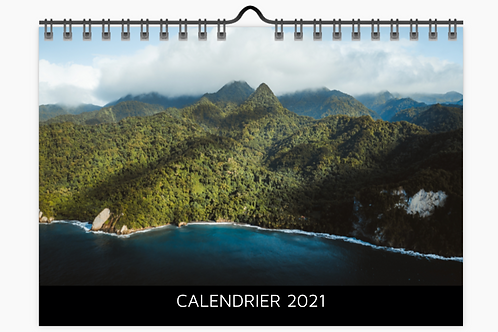 Calendrier 2021 - Discret noir