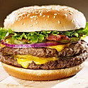 1/2 half pounder Beef Burger