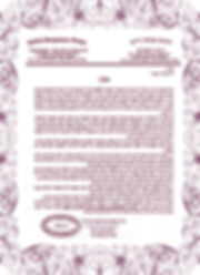 Amnon18 kashrut certificate RED - Rabbi