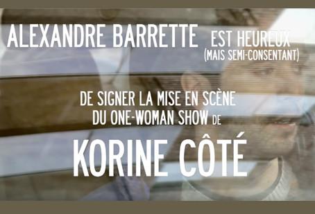Korine s'est trouvé un metteur en scène!