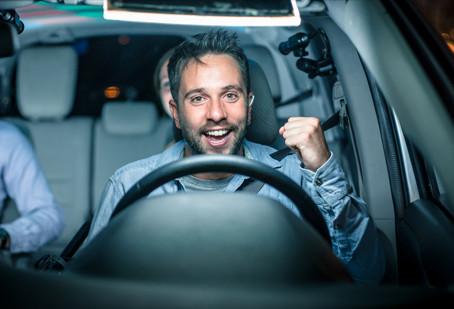 Alexandre de retour à l'animation de Taxi payant