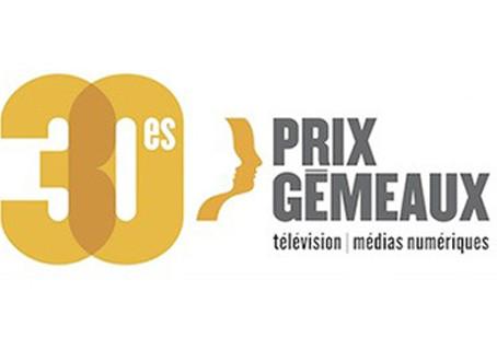 2 nominations pour alexandre aux prix Gémeaux