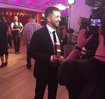 Alexandre récompensé au 30e gala des Gémeaux!