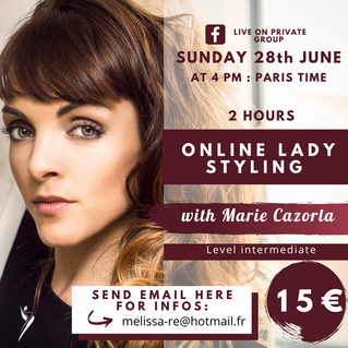 ONLINE lady styling le 28 juin 2020