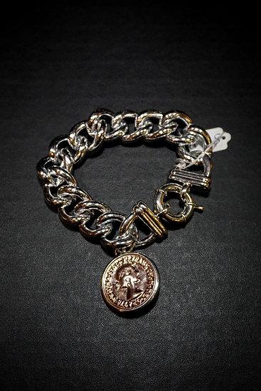 Chunky Coin Bracelet