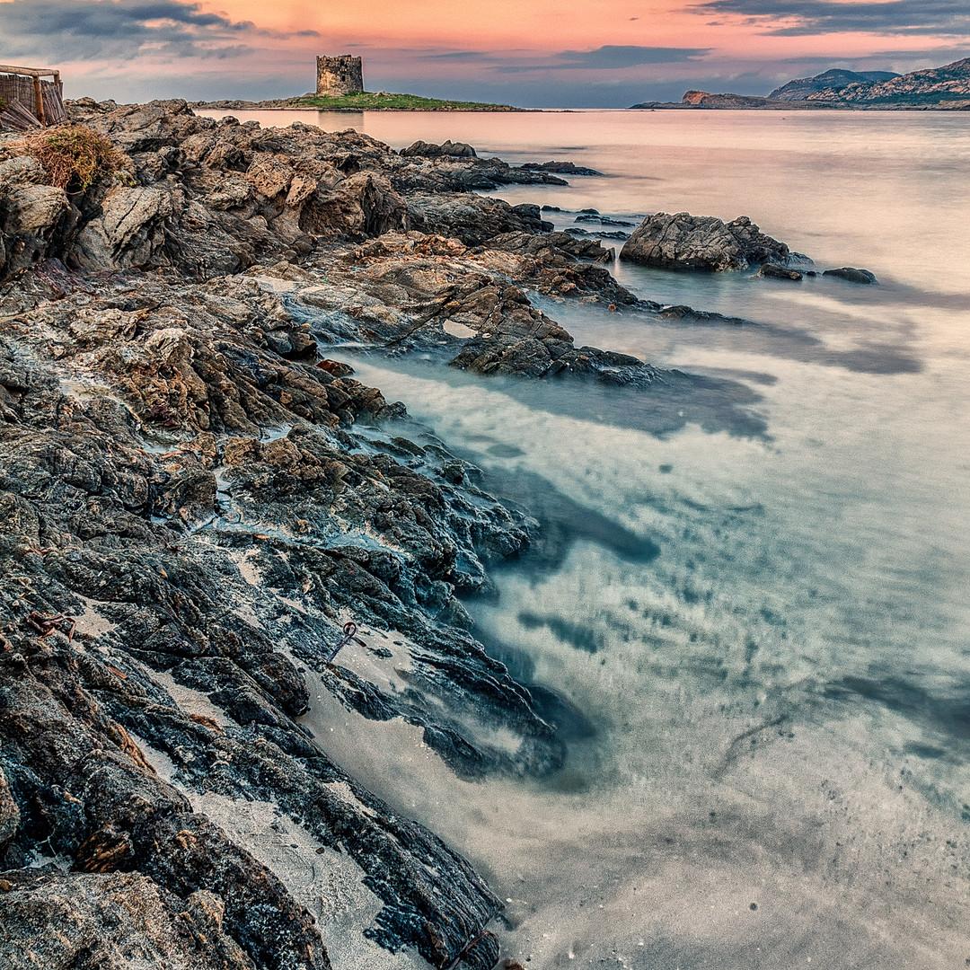 La Pelosa Stintino Sunseet Long Exposure Sardinia_Raffaele Cabras.jpg